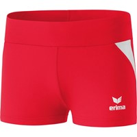 Erima Hotpants Dames - Rood / Wit