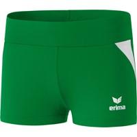 Erima Hotpants Dames - Smaragd / Wit