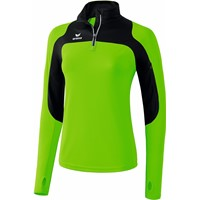 Erima Race Line Running Longsleeve Dames - Green Gecco / Zwart