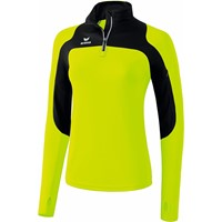 Erima Race Line Running Longsleeve Dames - Neongeel / Zwart