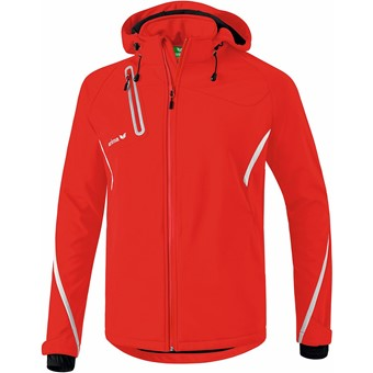 Picture of Erima Function Softshell Jas - Rood / Wit