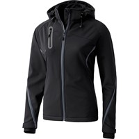 Erima Function Softshell Jas Dames - Antraciet / Zwart