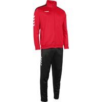 Hummel Valencia Trainingspak Polyester Kinderen - Rood / Zwart