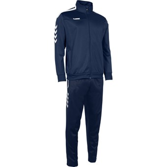 Picture of Hummel Valencia Trainingspak Polyester Kinderen - Marine / Wit