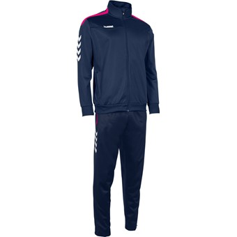 Picture of Hummel Valencia Trainingspak Polyester - Marine / Magenta