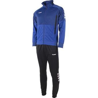 Picture of Hummel Authentic Trainingspak Polyester - Royal / Zwart