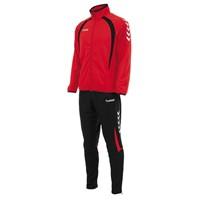 Hummel Team Trainingspak Polyester - Rood / Zwart / Wit