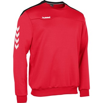 Picture of Hummel Valencia Top Round Neck Kinderen - Rood