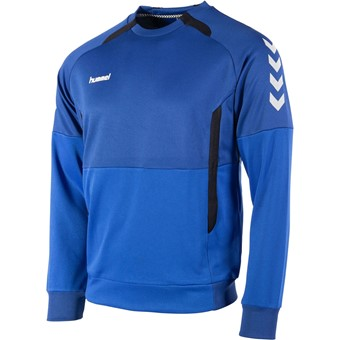 Picture of Hummel Authentic Top Round Neck - Royal / Zwart