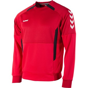Picture of Hummel Authentic Top Round Neck - Rood / Zwart
