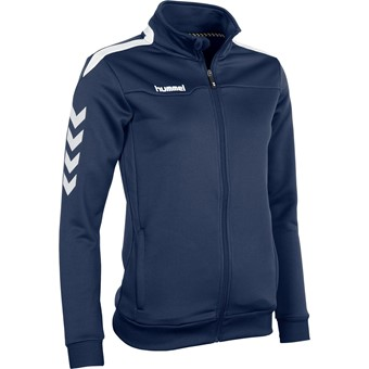 Picture of Hummel Valencia Trainingsvest Rits Dames - Marine
