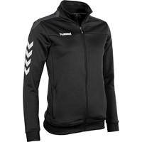 Hummel Valencia Trainingsvest Rits Dames - Zwart / Antraciet