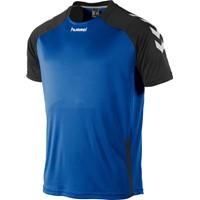 Hummel Aarhus Shirt Korte Mouw - Royal / Zwart
