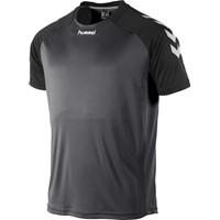 Hummel Aarhus Shirt Korte Mouw - Zwart / Antraciet
