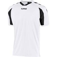 Hummel Everton Shirt Korte Mouw - Wit / Zwart