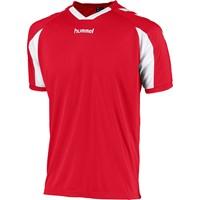 Hummel Everton Shirt Korte Mouw - Rood / Wit