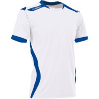 Hummel Club Shirt Korte Mouw - Wit / Royal