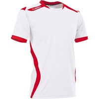 Hummel Club Shirt Korte Mouw - Wit / Rood