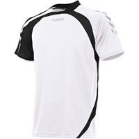 Hummel Odense Shirt Korte Mouw Kinderen - Wit / Zwart