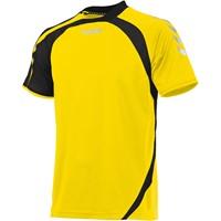 Hummel Odense Shirt Korte Mouw - Geel / Zwart