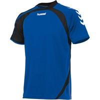 Hummel Odense Shirt Korte Mouw - Royal / Zwart