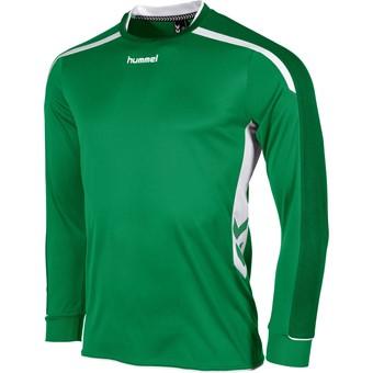 Picture of Hummel Preston Voetbalshirt Lange Mouw - Groen / Wit