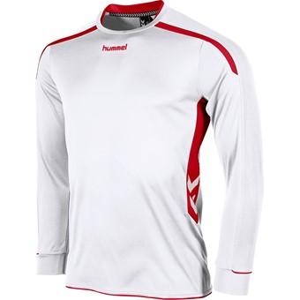 Picture of Hummel Preston Voetbalshirt Lange Mouw Kinderen - Wit / Rood