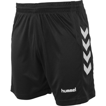 Picture of Hummel Aarhus Short Kinderen - Zwart / Wit