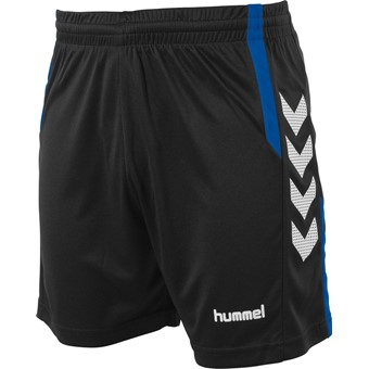 Picture of Hummel Aarhus Short - Zwart / Royal