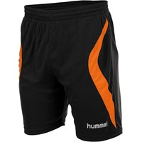 Hummel Manchester Short - Zwart / Oranje