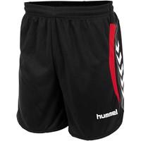 Hummel Odense Short - Zwart / Rood