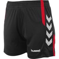 Hummel Aarhus Short Dames - Zwart / Rood