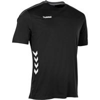Hummel Valencia T-shirt - Zwart / Antraciet