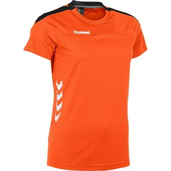 Picture of Hummel Valencia T-shirt Dames - Oranje