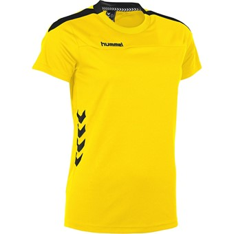 Picture of Hummel Valencia T-shirt Dames - Geel