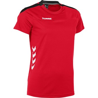 Picture of Hummel Valencia T-shirt Dames - Rood