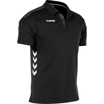 Picture of Hummel Valencia Polo - Zwart / Antraciet
