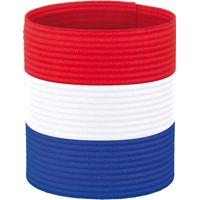 Hummel Nl Aanvoerdersband - Rood / Wit / Royal