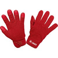 Jako Fleece Spelershandschoenen - Rood