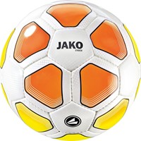 Jako Striker (3) Trainingsbal - Wit / Fluogeel / Fluo Oranje