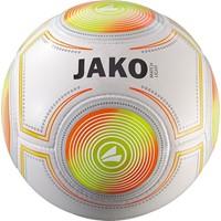 Jako Match Light (Ca. 350 G) Voetbal - Wit / Fluo Oranje / Fluogeel