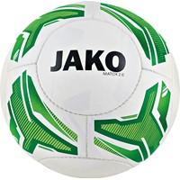 Jako Match 2.0 (290 G) Size 4 Lightbal - Wit / Fluo Groen / Groen