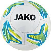 Jako Match 2.0 (350 G) Size 4 Lightbal - Wit / Fluogeel / Jako Blauw