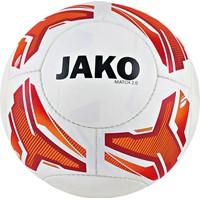 Jako Match 2.0 (290 G) Size 5 Lightbal - Wit / Fluo Oranje / Rood