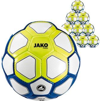 Picture of Jako Striker (maat 3) 20x Ballenpakket - Wit / Marine / Lemon