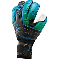 Jako Champ Supersoft Nc Keepershandschoenen - Zwart / Fluo Groen / Jako Blauw