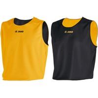 Jako Change Reversible Shirt Kinderen - Zwart / Geel