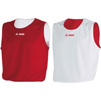 Jako Change Reversible Shirt Kinderen - Wit / Rood