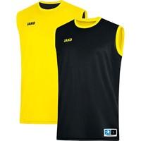 Jako Change 2.0 Reversible Shirt Kinderen - Zwart / Citroen
