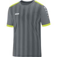 f0fc0b93706 Jako Porto 2.0 Shirt Korte Mouw Kinderen - Steengrijs / Lime
